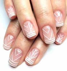 We are constantly finding better and more creative ways to make our nails stand out from the crowd but, the reverse French manicure is by far the best thing on the scene right now.