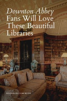 If you adore Downton Abbey, then you will love these stunning real-life libraries.  #books #downtonabbey #library Reading Nook Kids, Library Quotes, Beautiful Library, Nook Ideas, Book Nooks, Downton Abbey, House Rooms, Love Book, Great Books