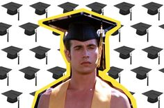 ConGRADS! Sorry none of you are graduating with this hunk. http://www.manrepeller.com/best_of_internet/vitamin-c-graduation-pop-song.html