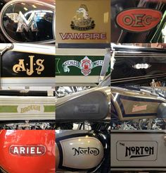 Classic British Motorcycle branding