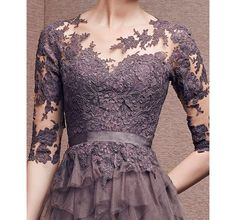 The delicate lace detail on this dress is absolutely stunning Kebaya Lace, Kebaya Hijab, Kebaya Dress, Model Kebaya Modern, Kebaya Modern Dress, Kebaya Wedding, Myanmar Dress Design, Dress Brokat, Fabulous Dresses