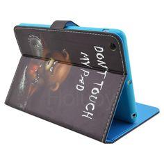 Angry Bear Magnetic Side Flip Stand TPU+ PU Leather Case for iPad Mini 3 iPad Mini 2 Retina iPad Mini