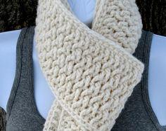 Very interesting stitch!  crochet scarf pattern