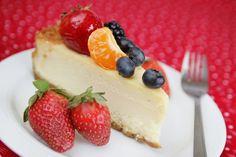 Íme, a kedvenc diétás sütim - Diétás túró torta Low Sugar, Crackers, Cheesecake, Food, Pretzels, Cheesecakes, Essen, Meals, Yemek