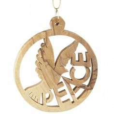 Peace Dove Ornament - Holiday - Products