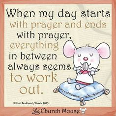 Little Church Mouse 21 Feb. 2015.