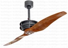 Steampunk themed propeller ceiling fan planes pinterest elegant designer fan with two blade which adds uniqueness to your room get this fan mozeypictures Choice Image
