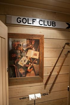 Charmant One Of Our Golf Themed Bathrooms #Donovans
