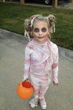 5 facili costumi di halloween per bambini