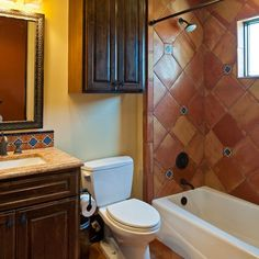 Mexican Style Bathrooms | Visit Houzz Com