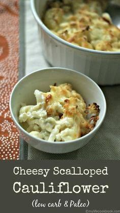 This cheesy scallope This cheesy scalloped cauliflower dish is a...  This cheesy scallope This cheesy scalloped cauliflower dish is a great low carb substitute for potatoes. All the creamy cheesy goodness without the carbs. Recipe : http://ift.tt/1hGiZgA And @ItsNutella  http://ift.tt/2v8iUYW