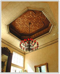 Such a unique ceiling. Trying to find out more information.