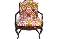 Bamboo-Style Cane Chair on OneKingsLane.com