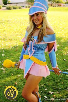 Yu-Gi-Oh!. Dark Magician. Cosplayer: Jessica Nigri. From. Arizona, US. Photo: Luke Malone 2009
