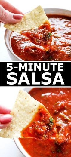 Best Ever 5-Minute Salsa