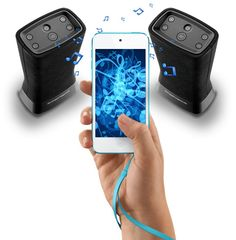 SuperTooth DISCO TWIN Portable Bluetooth Speaker Set