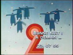 Générique de fermeture des programmes d'Antenne 2 (1975/1983) Dessins de Jean-Michel Folon - musique de Michel Colombier