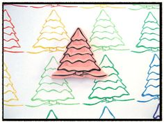 Hand Carved Stamp  Winter Tree Rubber Stamp  by SweetSpotStampShop, $7.99