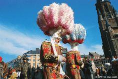 Carnival of Binche from Belgium