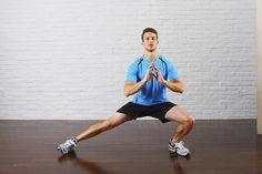 Home Gym: Auch ohne teure Geräte lassen sich wichtige Laufmuskeln trainieren. Fünf Übungen für zu Hause.