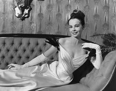leslie caron - in the movie Gigi. watching her dress up is the best part of the movie.  I just want this dress.