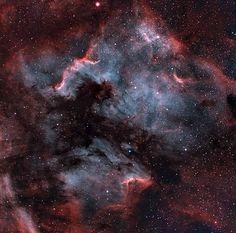 Mosaic NGC7000 narrowband