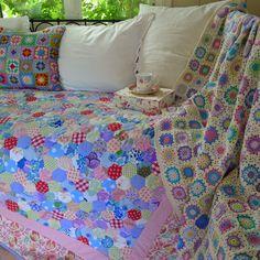 Mias Landliv: The retro quilt