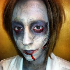 #zombie #makeup #makeupbyaislinn Zombie Makeup, Halloween Makeup, Halloween Ideas, Halloween Costumes, Spook Houses, Costume Makeup, Hallows Eve, Favorite Holiday, Thursday