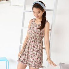 Buy '59 Seconds – Floral Print Sleeveless A-Line Dress' with Free International Shipping at YesStyle.com. Browse and shop for thousands of Asian fashion items from Hong Kong and more!