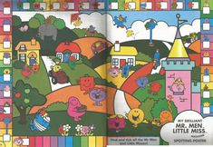 Mr. Men Little Miss Magazine - Beefeater Special Issue - Pages 5 and 6