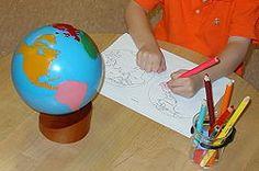 Growing resource for Montessori lessons - printables too! Montessori Preschool, Montessori Education, Montessori Materials, Maria Montessori, Preschool Classroom, Kids Education, Fun Learning, Learning Activities, Teaching Kids