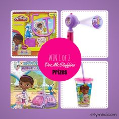 WIN Doc McStuffins Prize Pack &/or DVD from the SnyMed.com contest! http://www.snymed.com/2014/03/doc-mcstuffins-mobile-clinic-comes-to.html CAN/USA Ends 4/30