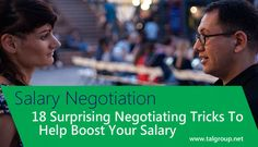 SALARY NEGOTIATION: 18 Surprising Negotiating Tricks To Help Boost Your Salary http://read.bi/2c0u8aU via Business Insider
