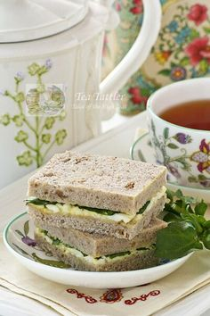 This can be easily veganized using tofu eggless egg salad Egg and Watercress Sandwiches
