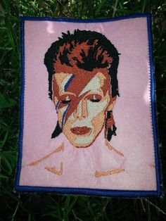 This patch is available, now.  If you find that it is sold out, please, check in later, I will continue to make these for as long as people feel that they need them.  David Jones, the man, may he rest in peace.  David Bowie, the legend, will lives for as long as he inspires.