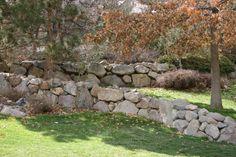 natural looking retaining wall... i need it