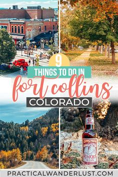 Fort Collins, Colorado things to do! From Old Town to craft beer to ghosts to college football games to hiking to scenic drives through the Rocky Mountains, here's all the best things to do in Fort Collins on a Colorado weekend trip.