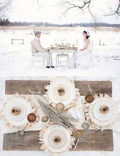 winter neutrals tablescape