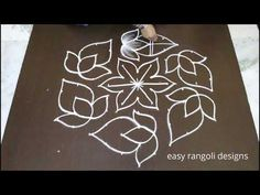 new chukkala muggulu designs * easy rangoli with dots * simple kolam * beautiful rangavalli Rangoli Designs Simple Diwali, Simple Rangoli Kolam, Rangoli Designs Latest, Rangoli Designs Flower, Rangoli Border Designs, Small Rangoli Design, Rangoli Ideas, Rangoli Designs Images, Rangoli Designs With Dots