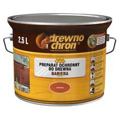 Bariera środek zabezpieczający do ochrony i dekoracji drewna. Produkt ma zastosowaną nowoczesną formułę wosku, który tworzy hydrofobową powłokę powodującą odpychanie wody od powierzchni. Dzięki lekko żelowej konsystencji nie kapie podczas malowania.  http://drewnochron.pl/produkty