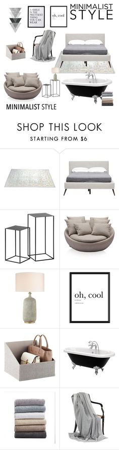 """Untitled #1047"" by vitorialn ❤ liked on Polyvore featuring interior, interiors, interior design, home, home decor, interior decorating, Hansen, Coyuchi, 3R Studios and Minimaliststyle"