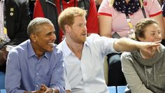 Barack Obama And Prince Harry Reunited And It Was A Sight To Behold
