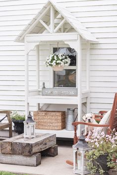 Simple Late Summer Patio - A simple patio perfectly designed for summer relaxation