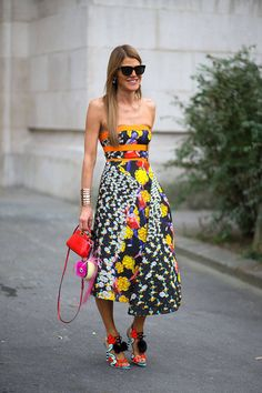 Anna Dello Russo at Paris Fashion Week Spring 2015. J'adore her Sophia Webster shoes!!! #annadellorusso #pfw