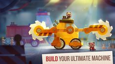 CATS: Crash Arena Turbo Stars Apk For Android From the creators of the hit games Cut the Rope and King of Thieves, comes the most ingenious Ipod Touch, Battle Bots, Hit Games, Cat Hacks, Ipad, Game Update, Free Gems, Game Ui, Car Game