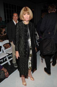 Anna Wintour attends the Altuzarra fashion show during Mercedes-Benz Fashion Week Spring 2014