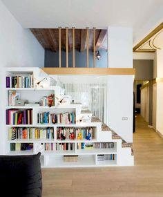Treppe Esszimmer zur leseecke