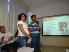 Ministrando seminário sobre Umbanda na PUC-Rio. Discutindo a Religião dentro da Universidade.