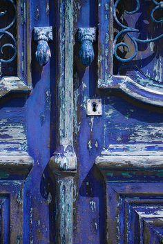 Portugal - Algarve - Blue door