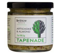Artichoke & Almond Tapenade - McEvoy Ranch